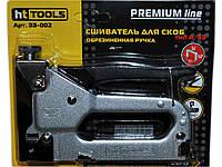 Степлер меблевий мет. резин.ручка Premium Line (414mm) 33002 ТМHT TOOLS