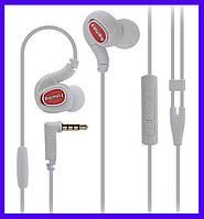 Наушники Remax RM-S1 Pro Sporty white с микрофоном