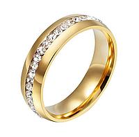 Женское кольцо из стали 18, 19  размер