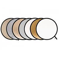 LASTOLITE Отражатель круглый Collapsible 95см Silver/White (3831)