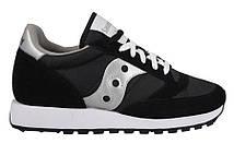 Стильные модные кроссовки Saucony Jazz Original Black (Код:2044-1s)