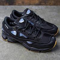 Женские повседневные кроссовки Adidas x Raf Simons Ozweego 2 Bunny Core Black, фото 1
