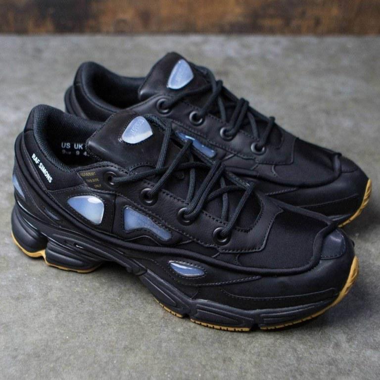 Женские повседневные кроссовки Adidas x Raf Simons Ozweego 2 Bunny Core Black