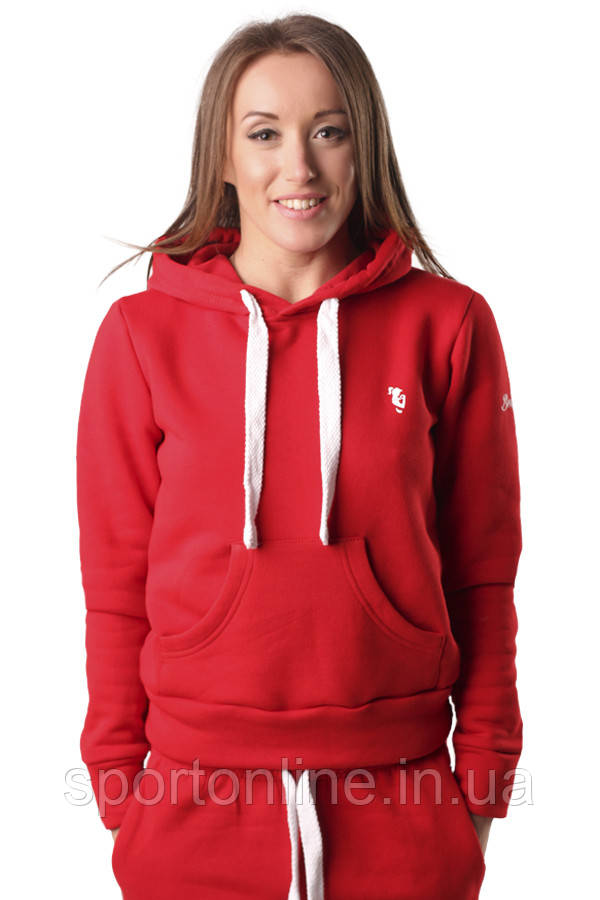 Худи BERSERK WOMENS ATHLETIC HOODY red