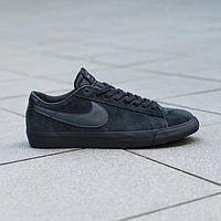 Мода 2018 кроссовки Nike SB Blazer Low Gt Black