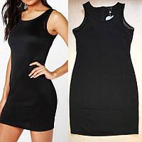 Черное Короткое Недорогое Обтягивающее Платье