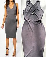 Шикарное Обтягивающее Платье с Открытой Спиной Boohoo оригинал