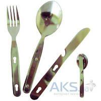 Туристическая посуда Tramp Набор ложка+вилка+нож TRC-003