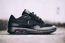Чоловічі кросівки Nike Air Max 1 Ultra Flyknit Black/Grey