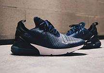 Стильні чоловічі кросівки Nike Air Max 270 Midnight Navy