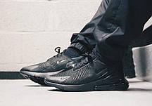 Зручні чоловічі кросівки Nike Air Max 270 Black