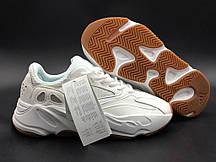 Белые мужские кроссовки Adidas Yeezy 700 Boost White