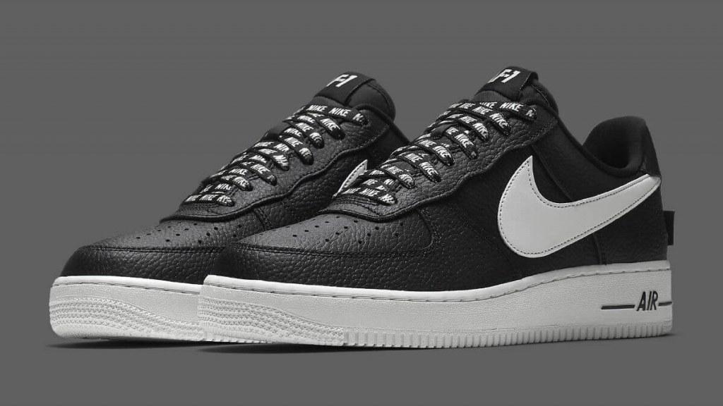 f391873d ☆ Купить Стильные модные кроссовки Nike Air Force 1 Low NBA Black ...