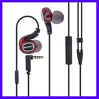 Наушники Remax RM-S1 Pro Sporty red с микрофоном
