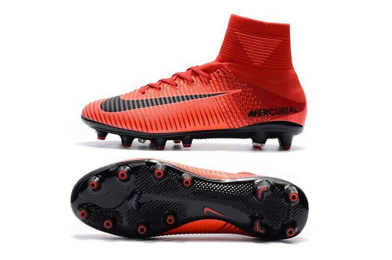 ... Футбольные бутсы Nike Mercurial Superfly V AG-Pro Bright Crimson White  University Red d949dd5ffbee1
