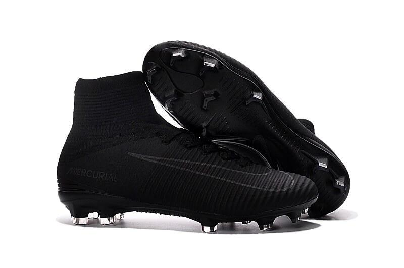 Футбольная обувь Nike Mercurial Superfly V FG Mono Black - Интернет-магазин