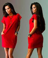 """Супер Цена!! Платье """"Calvin Klein"""" красное"""