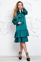 Платье женское зеленого цвета