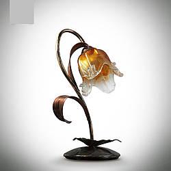 Настільна лампа в стилі флористика 17200-1