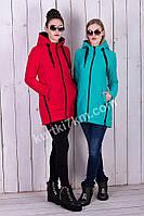 Стильная куртка парка женская Visdeer 8517