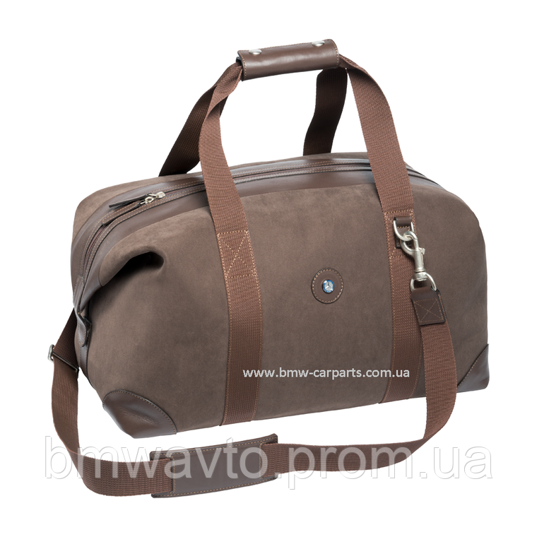 Кожаная дорожная сумка Mercedes-Benz Weekend bag, фото 2