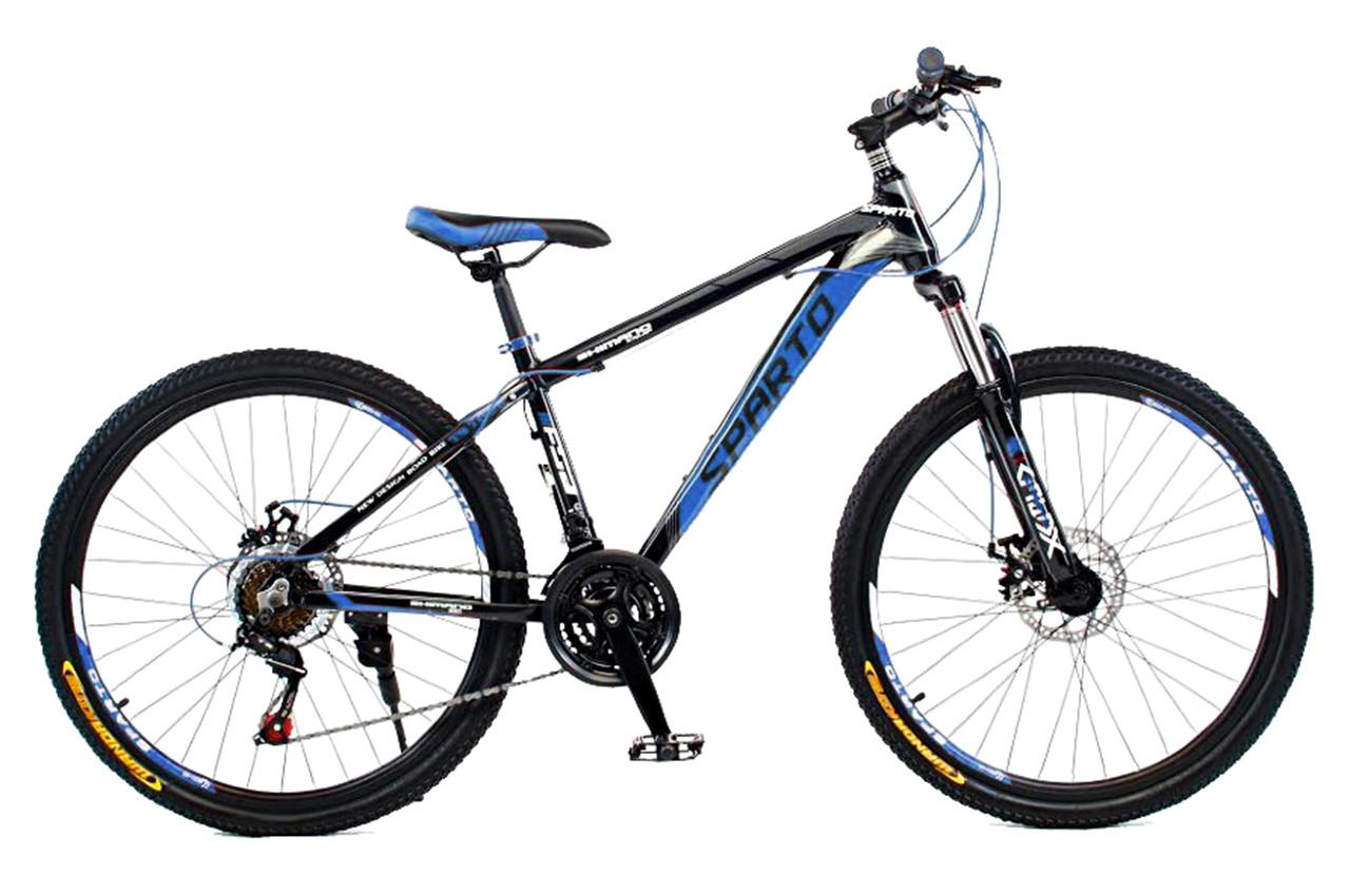 """Горный велосипед SPARTO TS 7626  26"""", 15"""", 17"""", 19""""Черный / Синий"""