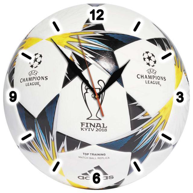 Изображение часы настенные лига чемпионов 2018 в Киеве