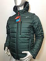 Мужская куртка трансформер Reebok с отстегивающимися рукавами копия