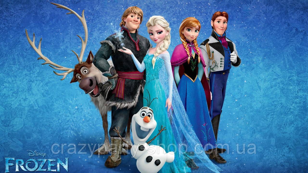 Наклейки на бутылочки, сок - Холодное сердце Фрозен Frozen