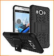 Противоударный двухслойный чехол Shield для Samsung Galaxy J7 (2016) SM-J710F Black