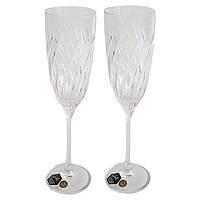 Свадебные бокалы (170 мл/2шт.) BOHEMIA Crystalex 8088