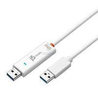 Адаптер для обмена данными j5create Wormhole Switch для Mac/Windows (USB 3.0) (JUC500)