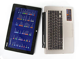 Ноутбук Asus Transformer Book TX300CA 13.3 (1920x1080) IPS / Intel Core i5-3337U (2x2.7GHz) / 4Gb / 500+128Gb / АКБ 3.5ч / Сотс. 9 БУ