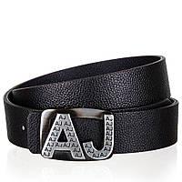Ремень мужской Armani Jeans 1202 Черный