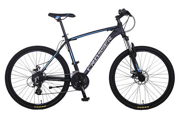 Горный велосипед CROSSER INSPIRON 29 Черный / Голубой