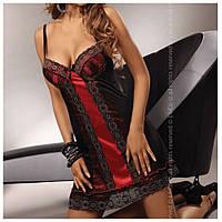Пеньюар Sora Livia Corsetti(цвет черный+красный, размер XXXL)