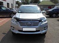 Дефлектор капота (мухобойка) Toyota RAV4 2009-2012
