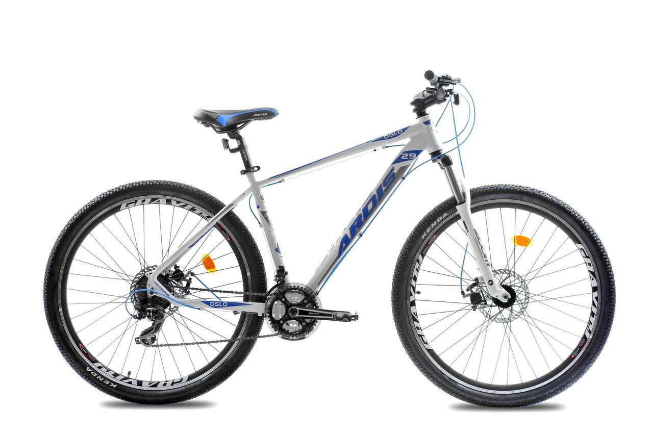 """Горный велосипед ARDIS OSLO 29"""" 19""""  Белый/Голубой"""