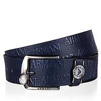 Ремень мужской Giorgio Armani 1400 Синий