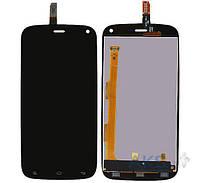 Дисплей (экран) для телефона BLU Life Play L100, Life Play L100A, Life Play L100I, Life Play X L102A, Life Play X L102I + Touchscreen Black