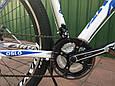"""Горный велосипед ARDIS OSLO 29"""" 19""""  Белый/Голубой, фото 5"""