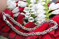 Браслет серебряный 925 женский Кобра
