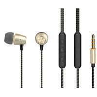 Вакуумные наушники-гарнитура Celebrat N3 с микрофоном