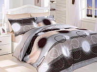 Комплект постельного белья First Choice Elena Kahve сатин 220-200 см разноцветный, фото 1