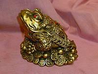 Денежная жаба статуэтка фигурка 9х14(длина) см