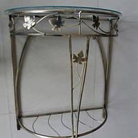 Столик пристенный консоль средняя