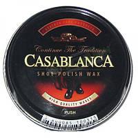Воск для обуви Casablanca черный 40 мл