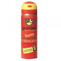 Аэрозоль-репеллент от комаров, мошек и мокрецов Gardex Extreme Super 50 мл