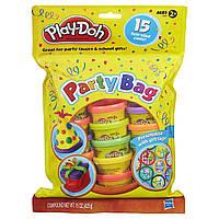 Play-Doh Набор для праздника 15 мини баночек пластилина Party Bag Dough 15 Count, фото 1
