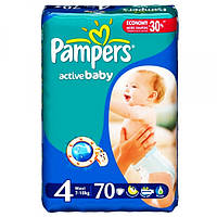 Подгузники Pampers Active Baby Maxi 4 (7-18 кг) 82 шт
